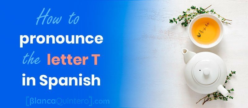 How to pronounce the Spanish T letter T in Spain sounds different form English T because it's produced in a different part of the mouth examples o words with te como pronunciar la letra T en español para y diferencias con el inglés para nativos ingleses